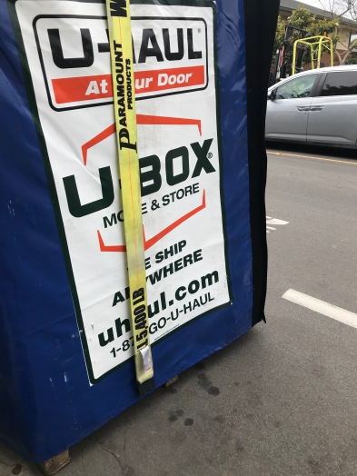 U-Haul Moving Boxes
